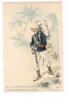 Uniforme. Infanterie Coloniale.( Ex Infanterie De Marine.)  Illustrateur. POK. ( T.u.136) - Uniformes