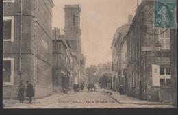 64 - CPA LONGWY-HAUT - Rue De L'Hôtel De Ville - Longwy