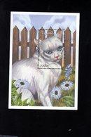 703462186 UGANDA POSTFRIS MINT NEVER HINGED POSTFRISCH EINWANDFREI  SCOTT 1718 CATS BLUE EYED BRITISH SHORTHAIR - Ouganda (1962-...)