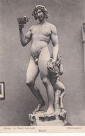 Cp , ARTS , FIRENZE , R. Museo Nazionale , Bacco (Michelangelo) - Sculture
