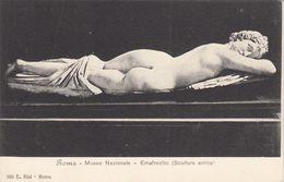 Cp , ARTS , ROMA , Museo Nazionale , Emafrodito (Scultura Antica) - Sculture