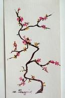 #12  Japanese Plum, Tree - Used Postcard 1973 - Trees