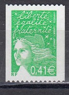 France 2002 - Serie Courante: Type Marianne, YT 3458, Provenant De Roulette, Neuf** - France