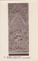 Cp , ARTS , MUSÉE INDOCHINOIS , Art Khmrt , Angkor Vat (XIIe S.), Figure Décorative - Sculptures