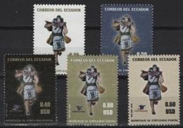 Ecuador (2006) Yv. 1921/25  /  Post - Mail - Correo - Poste - Post