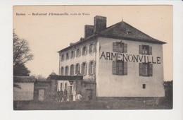 26665 Rennes Restaurant D' Armenonville Route De Vezin -éd Sans . - Rennes