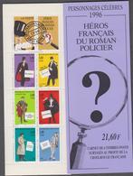 FRANCE Bande Carnet Neuf Xx Non Pliée BC3031 Héros De Roman Policier - Postzegelboekjes