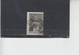 ARGENTINA  1957 - Yvert  575 - Saenz Pena - Argentina