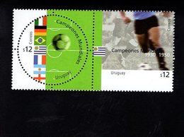 703470070 URUGUAY POSTFRIS MINT NEVER HINGED POSTFRISCH EINWANDFREI  SCOTT 1946 SOCCER - Uruguay