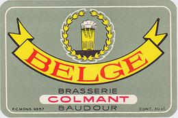 Br. Colmant (Baudour) - Belge - Bière