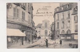 26667 Rennes 35F -rue Visitation Bonne Nouvelle Café Bregere  -éd 99 MitL Trefle -  Chateau Montagne Guerche Bretagne - Rennes