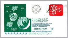FLEETSATCOM (Fleet Satellite Communications). Kennedy Space Center FL 1980 - FDC & Conmemorativos