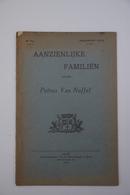 Aalst  1924 Petrus Van Nuffel Aanzienlijke Familien - Documents Historiques
