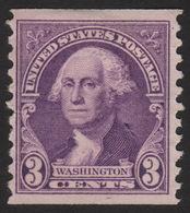 1932 US, 3c Stamp, MNG, George Washington, Sc 721 - Vereinigte Staaten