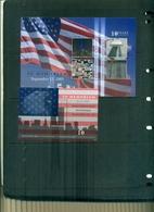 GRENADA  10 ANNIVERSAIRE 11 SEPTEMBRE 2001  4 VAL+ BF NEUFS A PARTIR DE 1.75 EUROS - Grenade (1974-...)