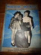1937 LE MIROIR DU MONDE :Daniel Heurteaux,Jacqueline Bouthiers;Japon;Meetin Aviation Vincennes;SALON;United Kingdom;etc - Books, Magazines, Comics