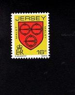 703476877 GREAT BRITAIN  JERSEY POSTFRIS MINT NEVER HINGED POSTFRISCH EINWANDFREI  SCOTT 381 ARM TYPE - Jersey