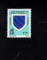 703477762 GREAT BRITAIN  JERSEY POSTFRIS MINT NEVER HINGED POSTFRISCH EINWANDFREI  SCOTT 382 ARM TYPE - Jersey