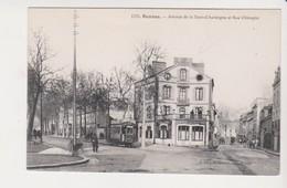 26672 Rennes 35F Avenue Tour Auvergne Rue Chicogne -1170 Mary-Rousseliere -café La Terasse Tramway - Rennes