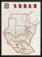 Sudán. *Sudan Map* Nilo Distr. Nº 1B. Nueva. - Sudán