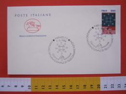 A.01 ITALIA ANNULLO - 1984 FIRENZE FDC SIMPOSIO INTERNAZIONALE TELECOMUNICAZIONI TELECOM TELEFONIA TELEPHON - Telecom