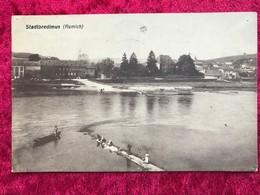 Luxembourg Stadtbredimus Remich ( Oben Links Und Rechts An Den Ecken Ein Nadelloch ) - Postcards