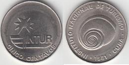 Cuba 5 Centavos 1981 (no 5) KM#411 - Used - Cuba
