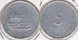 Cuba 5 Centavos 1988 (no 5) KM#413 - Used - Cuba