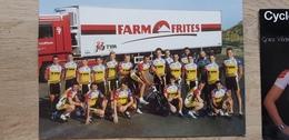 Farm Frites TVM - Cycling - Cyclisme - 1996 - Wielrennen