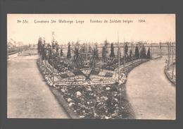 Liège - Cimetière Ste. Walburge - Tombes De Soldats Belges 1914 - Liege