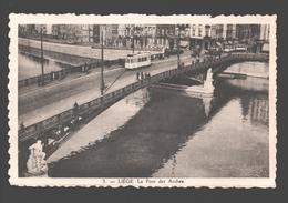 Liège - Le Pont Des Arches - Tram / Tramway - Animation - Liege