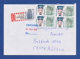 Bund R-Brief Einschreiben MiF Sehenswürdigkeiten - BERLIN-KARLSHORST - BRD