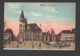Liège - La Poste - Colorisée - 1921 - Animation - Liege