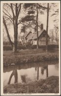 Anne Hathaway's Cottage, Shottery, Warwickshire, C.1930s - Walter Scott Postcard - Stratford Upon Avon
