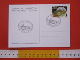 A.01 ITALIA ANNULLO - 2006 TORINO GIORNATA DELLA MONTAGNA MUSEO NAZIONALE CARD PILA ELETTRICA LUCE LUX - Geologia