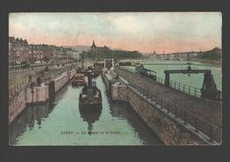 Liège - La Meuse Et Le Canal - Colorisée - 1911 - Liege