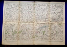 GERAARDSBERGEN Meting 1864-1911 STAFKAART 30 ZOTTEGEM NINOVE BRAKEL DENDERLEEUW HERZELE ZWALM HOREBEKE MAARKEDAL S415 - Geraardsbergen