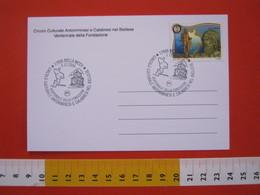 A.01 ITALIA ANNULLO - 2006 BIELLA CIRCOLO CULTURALE CALABRESI NEL BIELLESE CALABRIA BATTISTERO MAPPA FRANCOBOLLO IN TEMA - Geografia