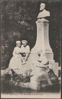 Le Monument De Jules Verne, Amiens, C.1905-10 - Lévy CPA LL224 - Amiens