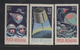 ROUMANIE N° 2142/2144  ** - COSMOS - Space