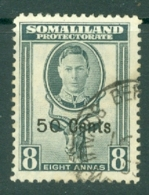 Somaliland Protectorate: 1951   KGVI - Surcharge    SG130     50c On 8a     Used - Somaliland (Protectorate ...-1959)