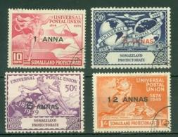 Somaliland Protectorate: 1949   U.P.U.     Used - Somaliland (Protectorate ...-1959)