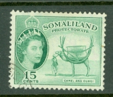 Somaliland Protectorate: 1953/58   QE II - Pictorial    SG139     15c     Used - Somaliland (Protectorate ...-1959)