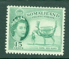 Somaliland Protectorate: 1953/58   QE II - Pictorial    SG139     15c     MH - Somaliland (Protectorate ...-1959)
