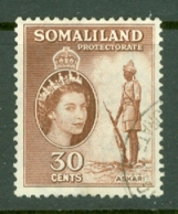 Somaliland Protectorate: 1953/58   QE II - Pictorial    SG141     30c     Used - Somaliland (Protectorate ...-1959)