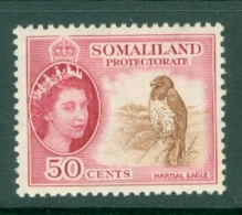 Somaliland Protectorate: 1953/58   QE II - Pictorial    SG143     50c     MH - Somaliland (Protectorate ...-1959)
