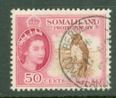 Somaliland Protectorate: 1953/58   QE II - Pictorial    SG143     50c     Used - Somaliland (Protectorate ...-1959)