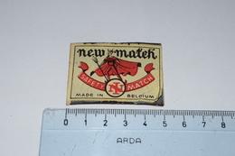 New Match Safety Diable - Boites D'allumettes - Etiquettes