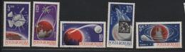 ROUMANIE N° 2180/2183  ** - COSMOS - Space