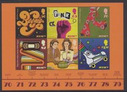 Jersey 2019 - Pop Culture Souvenir Sheet - Unmounted Mint NHM - Jersey